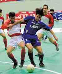 عکس/ شمسایی در تیم فوتسال استقلال