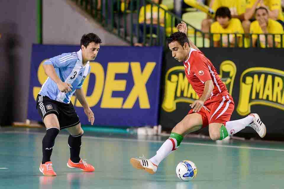 گزارش تصویری/ بازی ایران و آرژانتین در جام جهانی کوچک