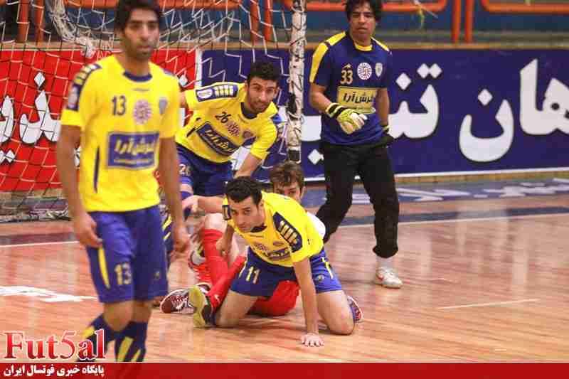 گزارش تصویری/ بازی تیم های ماهان تندیس قم و فرش آرای مشهد