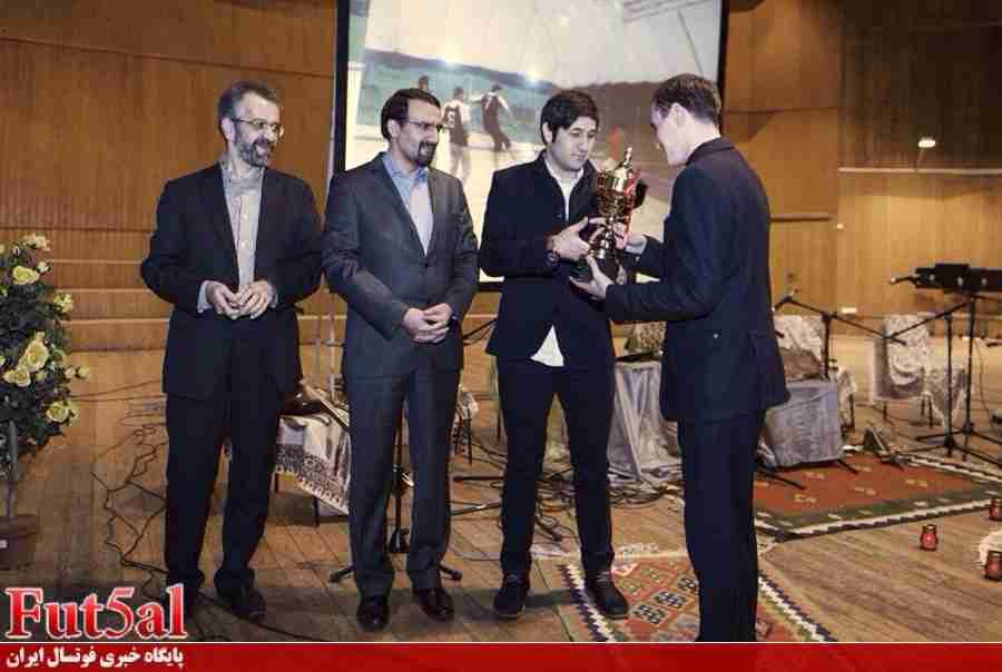 نظری میهمان ویژه جشن سفارت ایران در روسیه