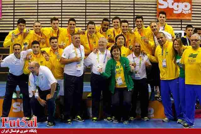 برزیل قهرمان رشته فوتسال شد