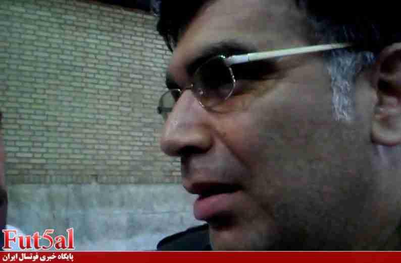 فیلم اختصاصیfut5al/ مصاحبه مدیر عامل گیتی پسند+درگیری لفظی با لیدر منصوری