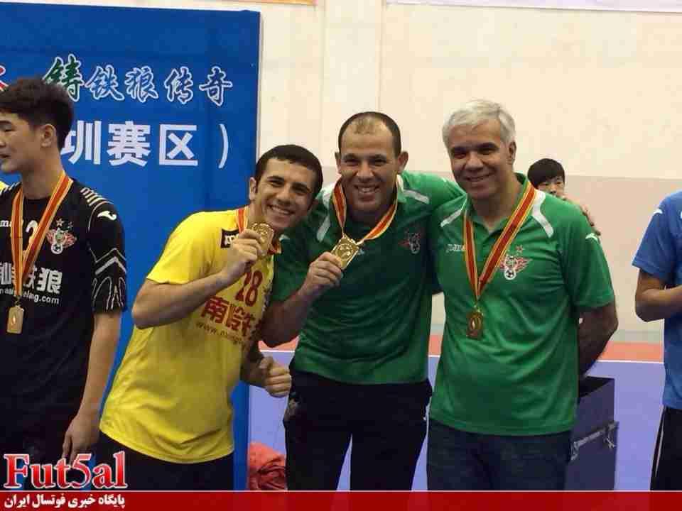 بازیکن گوانگ ژو چین به کوثر اصفهان پیوست
