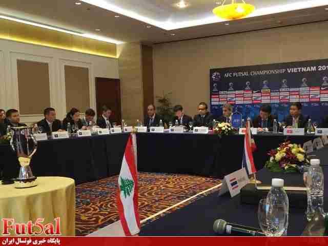 برگزاری دومین جلسه هماهنگی مسابقات مقدماتی فوتسال آسیا