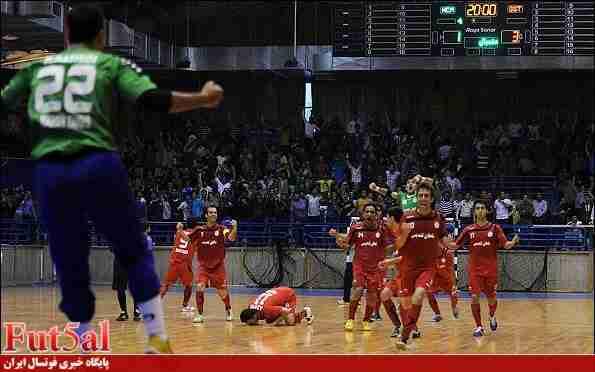 گزارش تصویری- سری ۲/ بازی فینال جام حذفی فوتسال