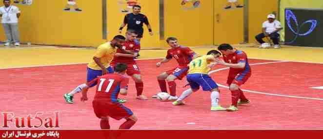 سهرابی داور برزیل و چک