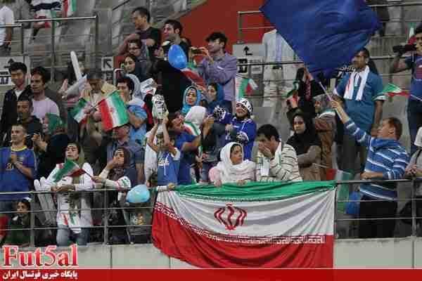 حضور بانوان تماشاگر در بازی ایران – ایتالیا ممنوع است؟