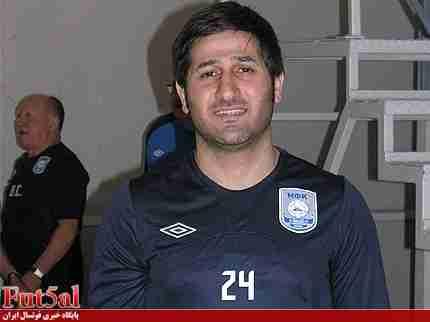نظری :در هر پست و مقامی سرباز تیم ملیام/باید به تمام دنیا ثابت کنیم که فوتسال برای ایران است