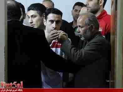 محمود لطفی به تمرینات شهروند ساری بازگشت