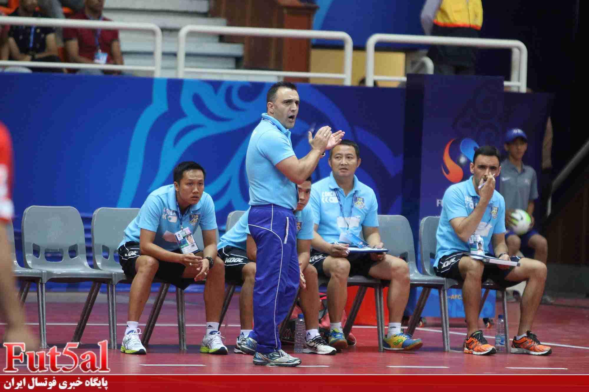 سرمربی تای سون نام ویتنام: بازیکنان ما براساس برنامه و دستورات بازی کردند