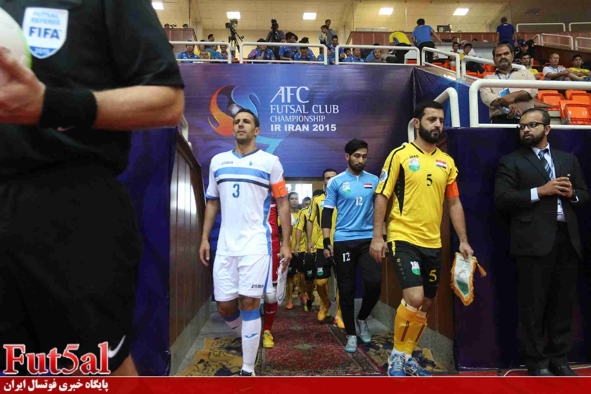 گزارش تصویری اختصاصی/بازی تیم های نفت الوسط عراق با بانک بیروت لبنان