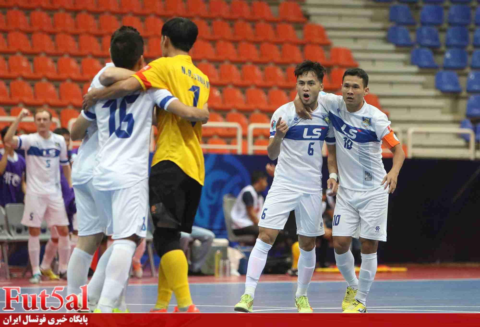 گزارش تصویری اختصاصی/بازی تیم های تای سون نام ویتنام با الریان قطر