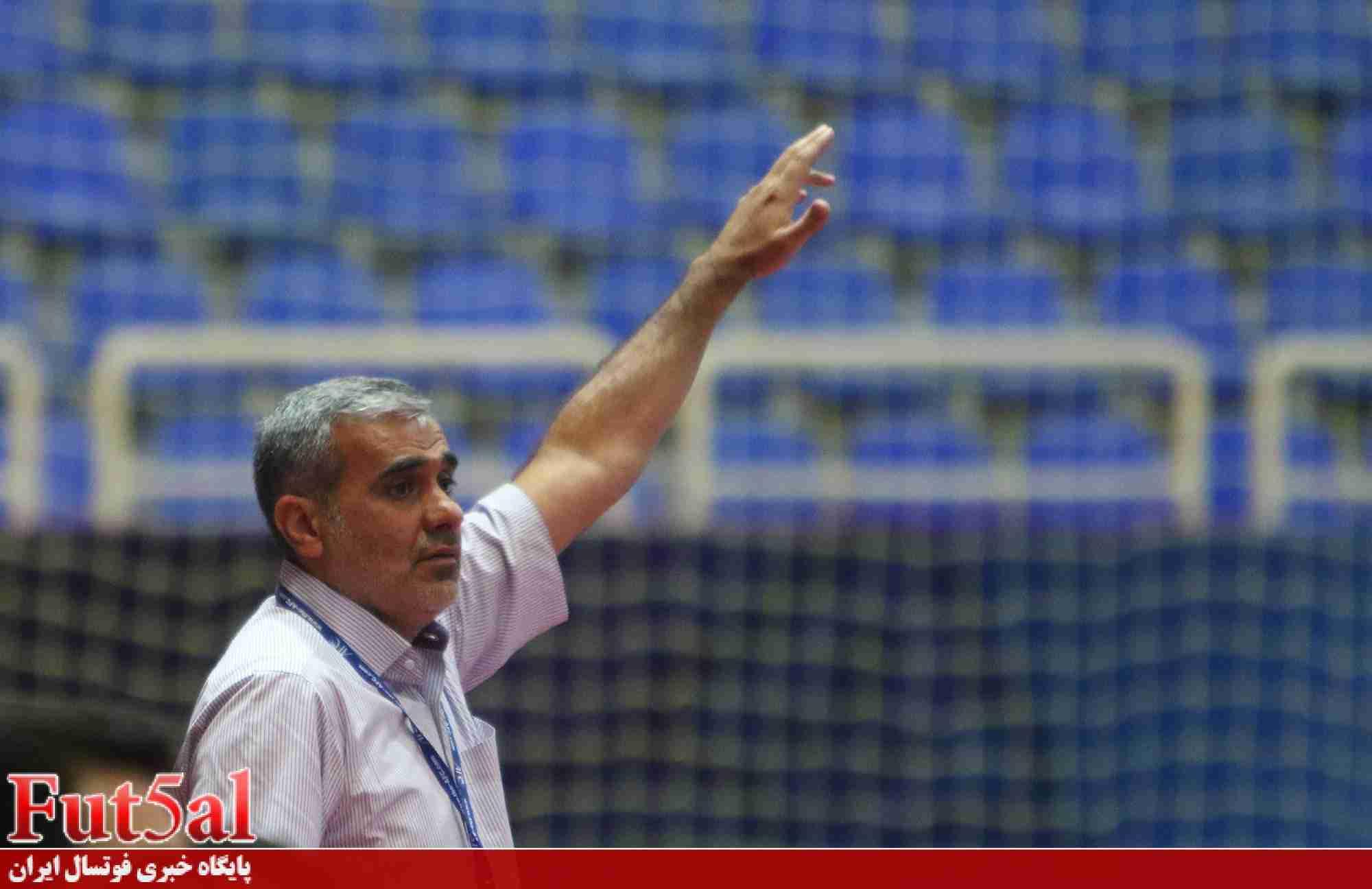 شمسایی: کویت خیلی بهتر از امارات بود/ شرایط سختی مقابل ناگویا داریم