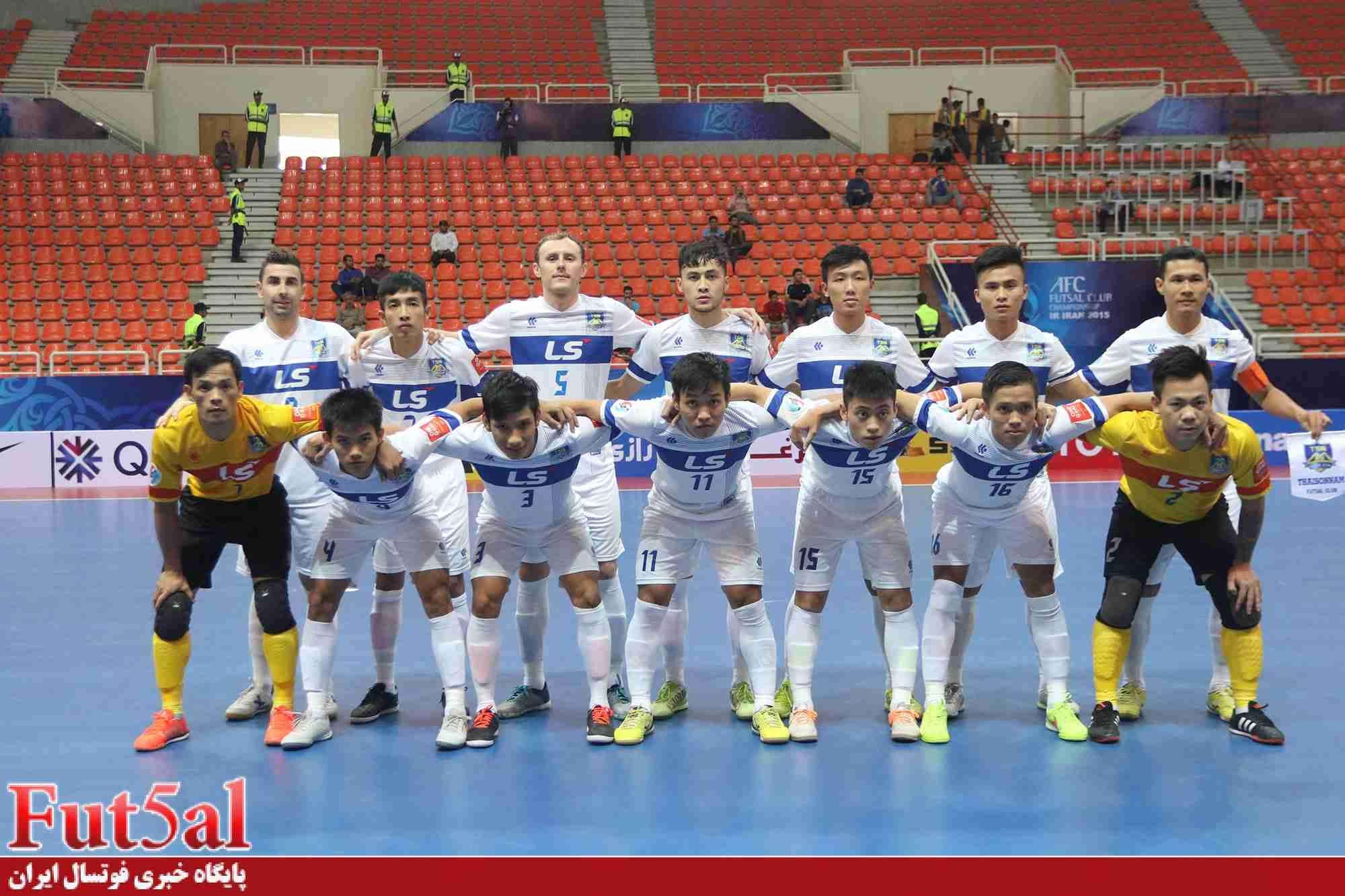 کاپیتان سابق تیم ملی فوتسال ویتنام:تای سون نام  ویتنام برای نخستین بار به مرحله نیمه نهایی راه یافته است