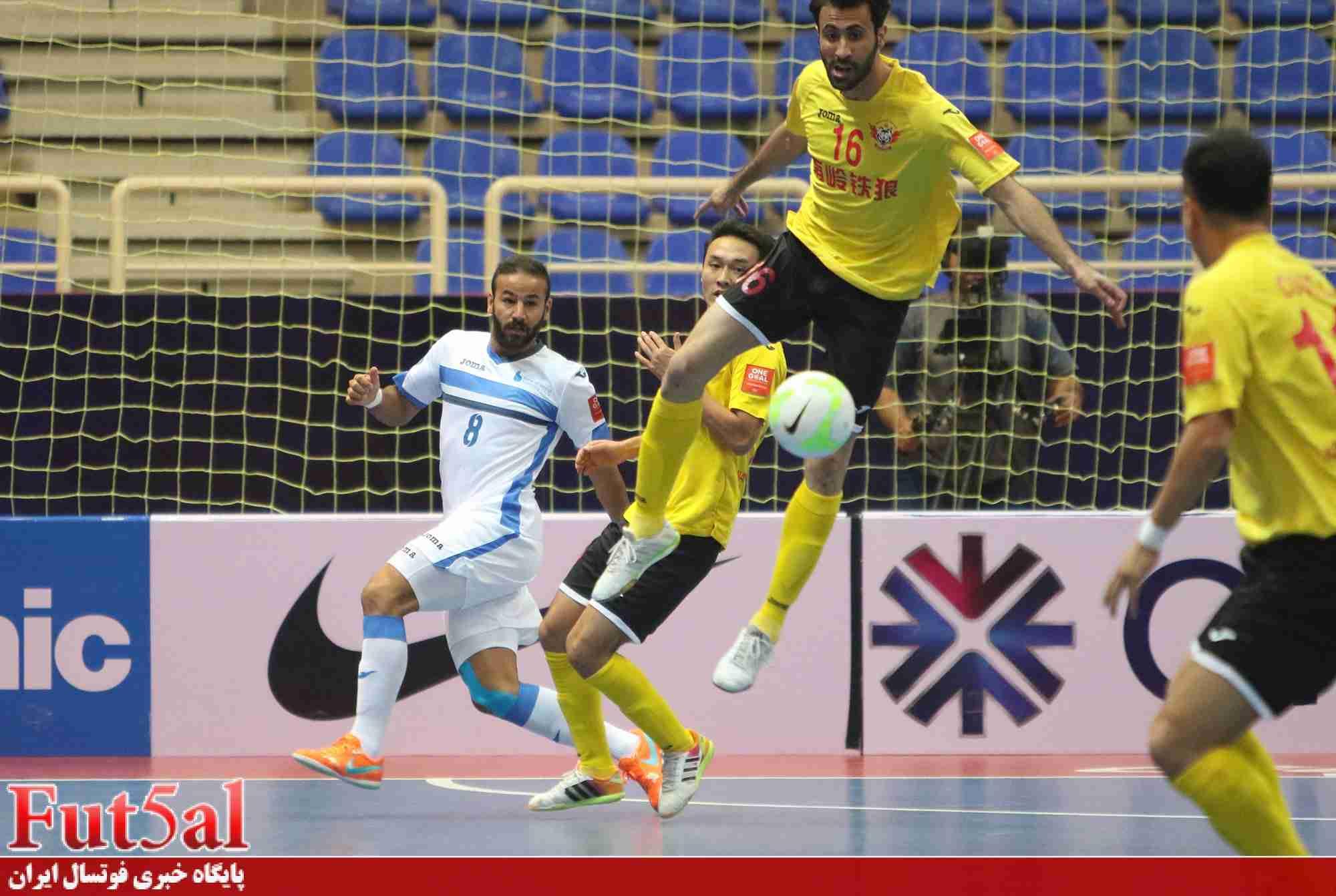 گزارش تصویری اختصاصی/بازی تیم های بانک بیروت لبنان با شن زن چین