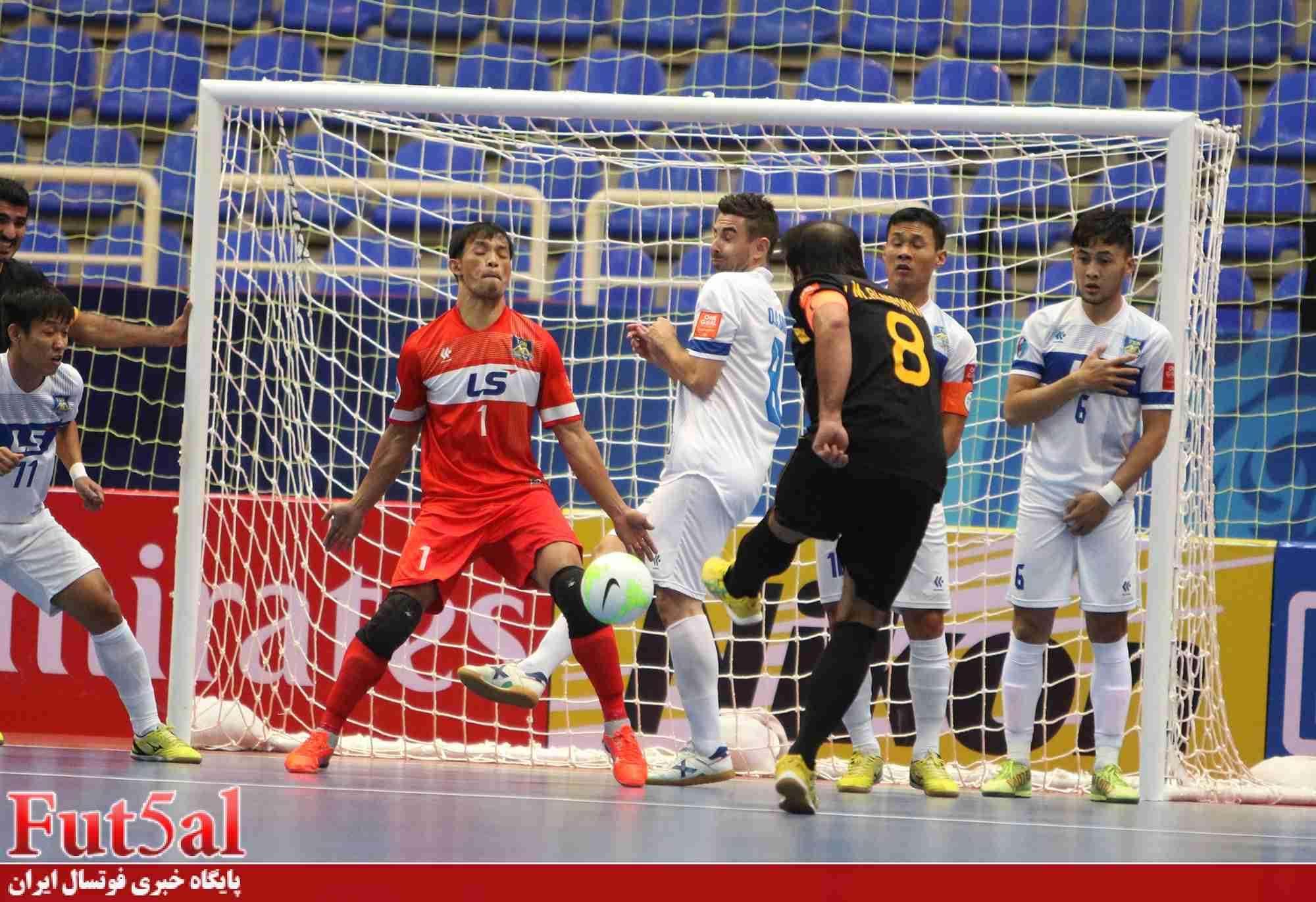 گزارش تصویری اختصاصی/بازی تیم های القادسیه کویت با تای سون نام ویتنام