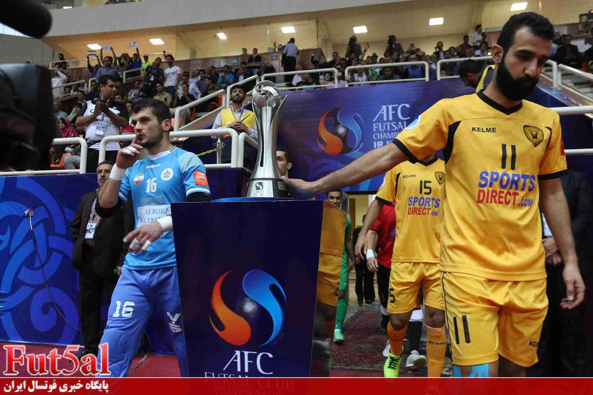 برنامه کامل مسابقات فوتسال باشگاه های آسیا/۲۵تیر اولین بازی دریایی ها
