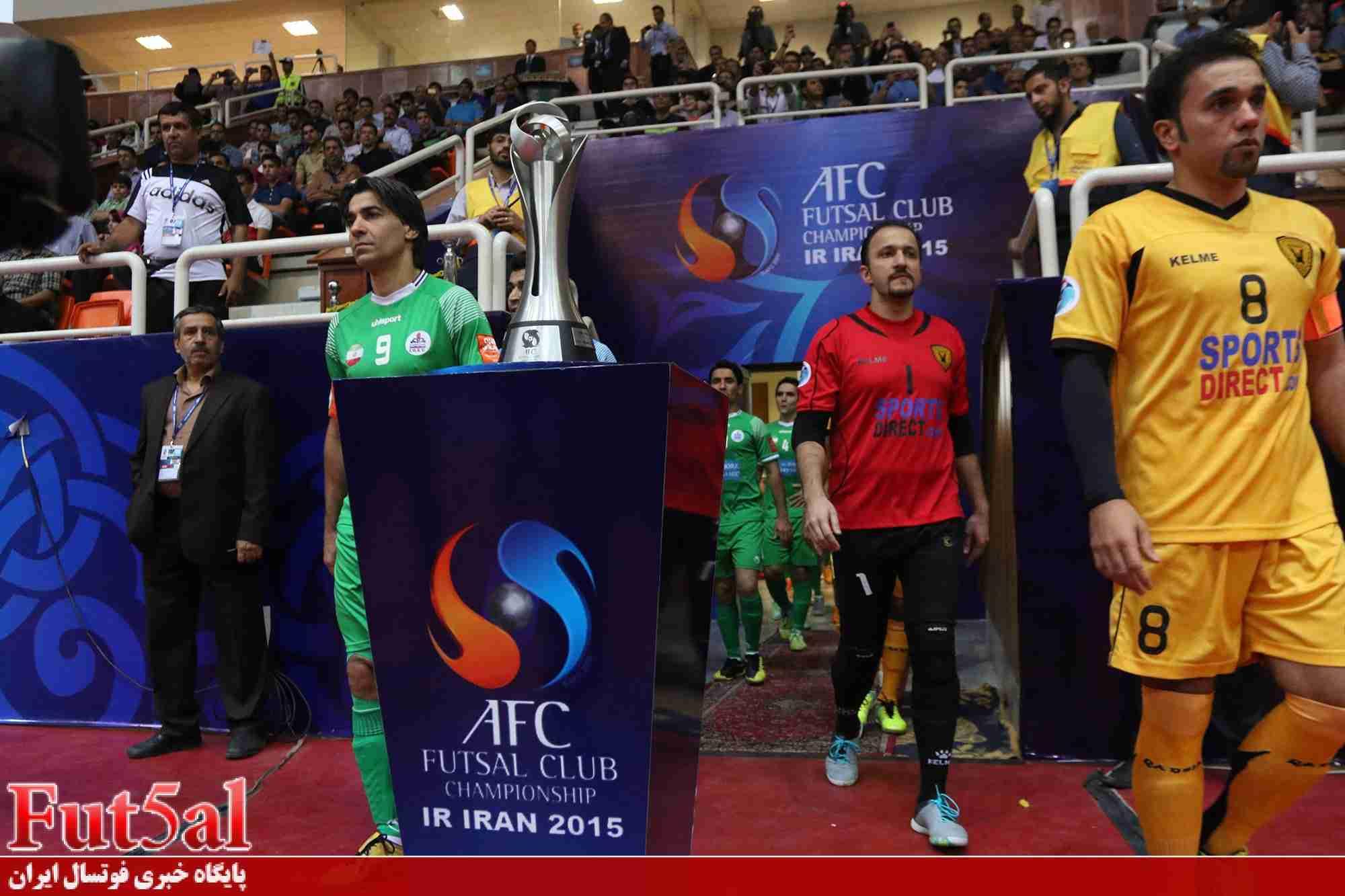 گزارش تصویری اختصاصی/بازی تیم های تاسیسات دریایی تهران با القادسیه کویت در فینال آسیا