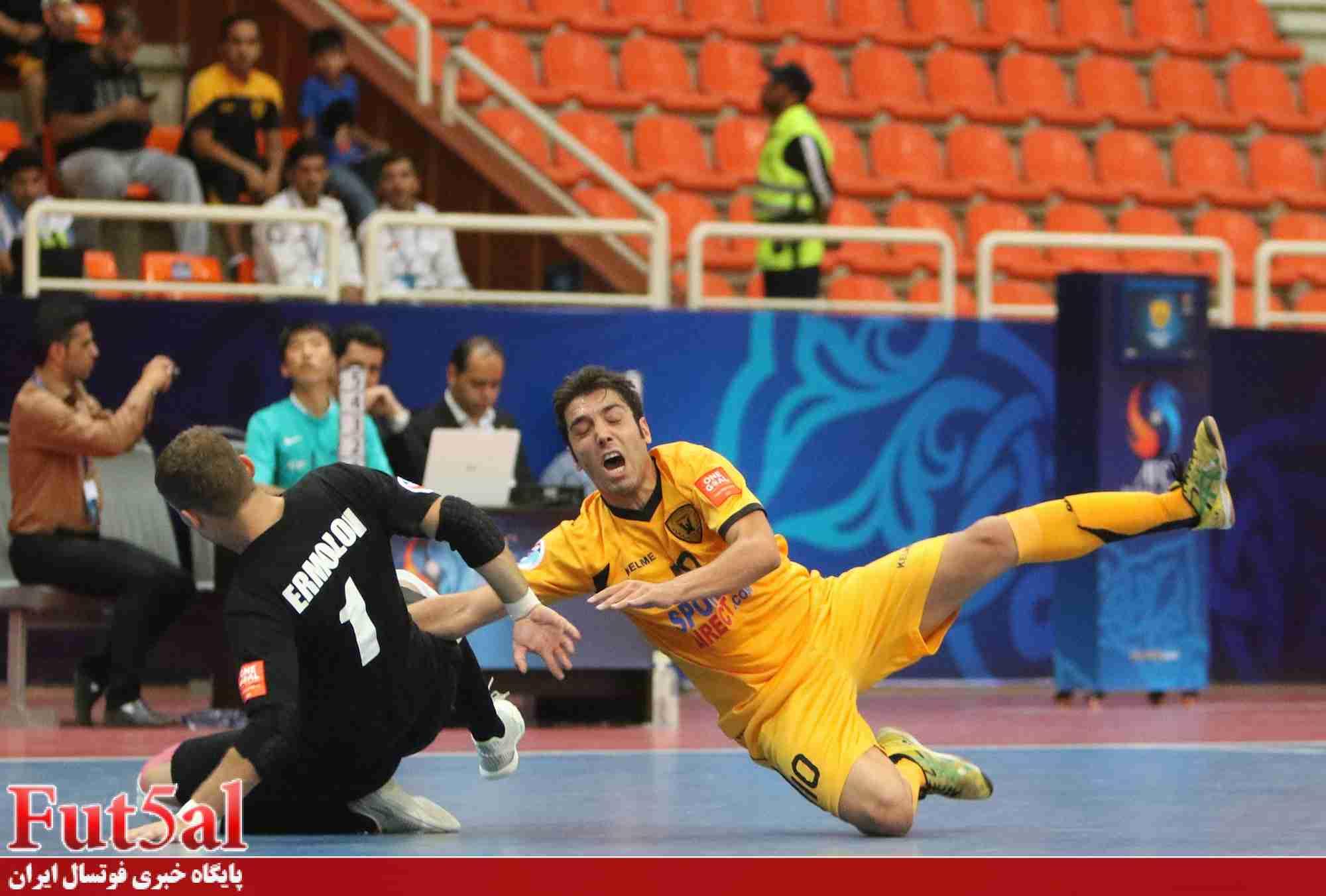طاهری:دوست دارم در فینال با تاسیسات بازی کنیم/ درخشش بازیکنان ایرانی در تیم های خارجی مایه افتخار است
