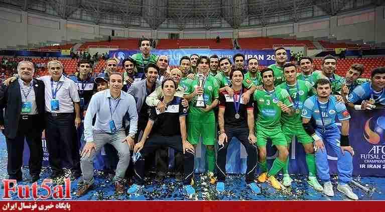 آقایی دوباره بر فوتسال آسیا مبارک ایران