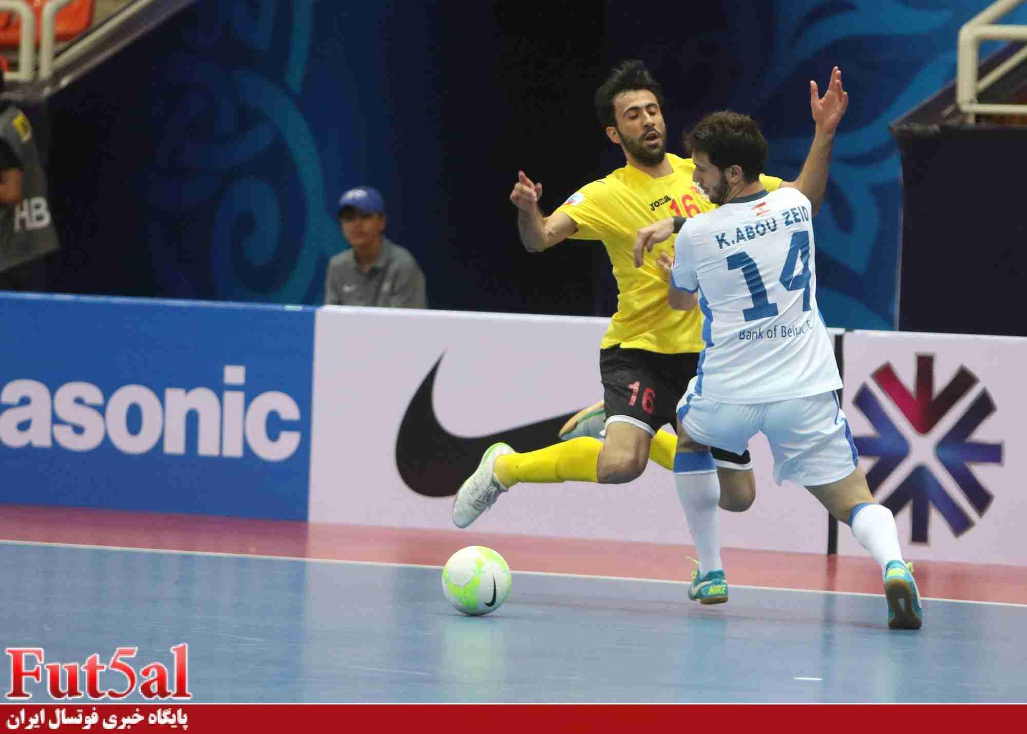 ویدیو بازی نهم جام /بانک بیروت ۵ -شن زن چین۳/ درخشش جاوید در ترکیب بانک بیروت