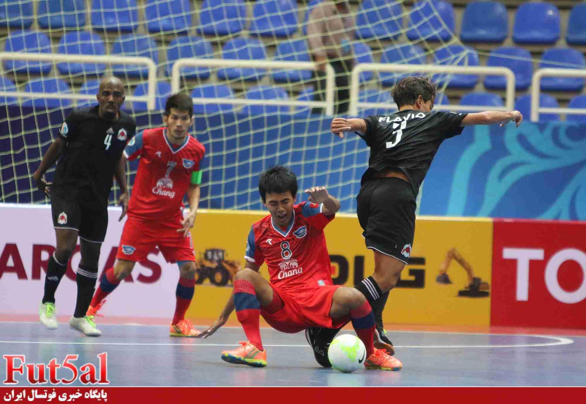 ویدئو بازی دهم جام/الریان قطر ۲ -چونبوری تایلندیک/صعود الریان با درخشش سپهر محمدی