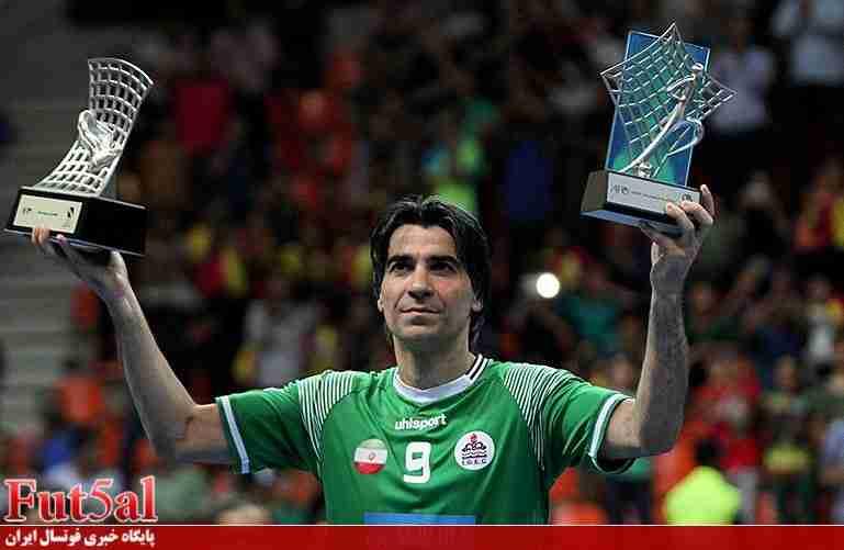 وحید شمسایی نامزد بهترین بازیکن سال فوتسال آسیا