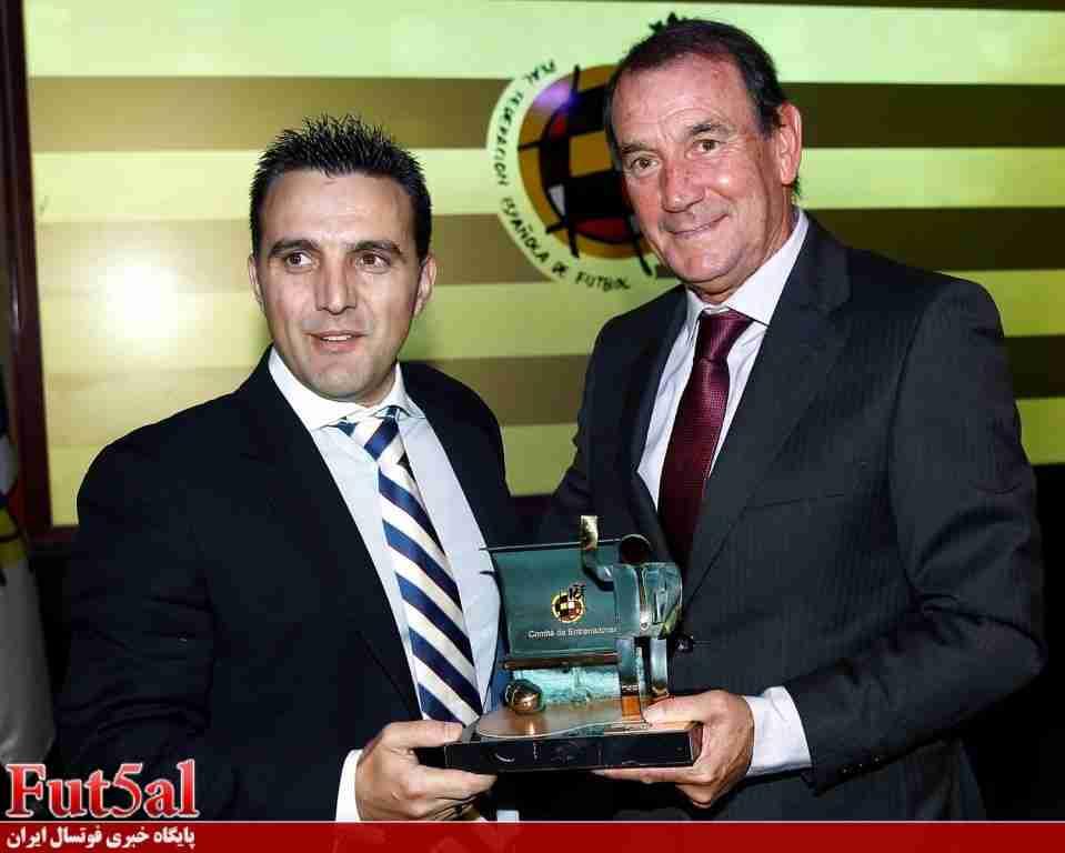 گزینه سرمربی گری تیم ملی را بیشتر بشناسیم/ خوزه گارسیا بهترین مربی سال اسپانیا و نائب قهرمان لیگ چین
