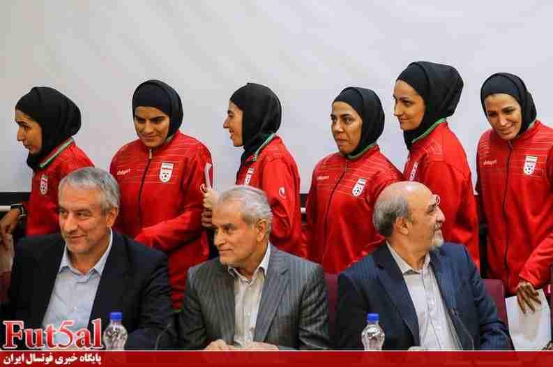 گزارش تصویری/تجلیل وزارت ورزش از بانوان فوتسالیست