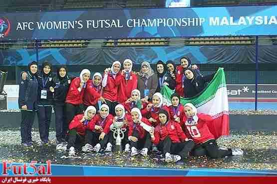 پیام تبریک باشگاه تاسیسات دریایی برای قهرمانی بانوان ایران