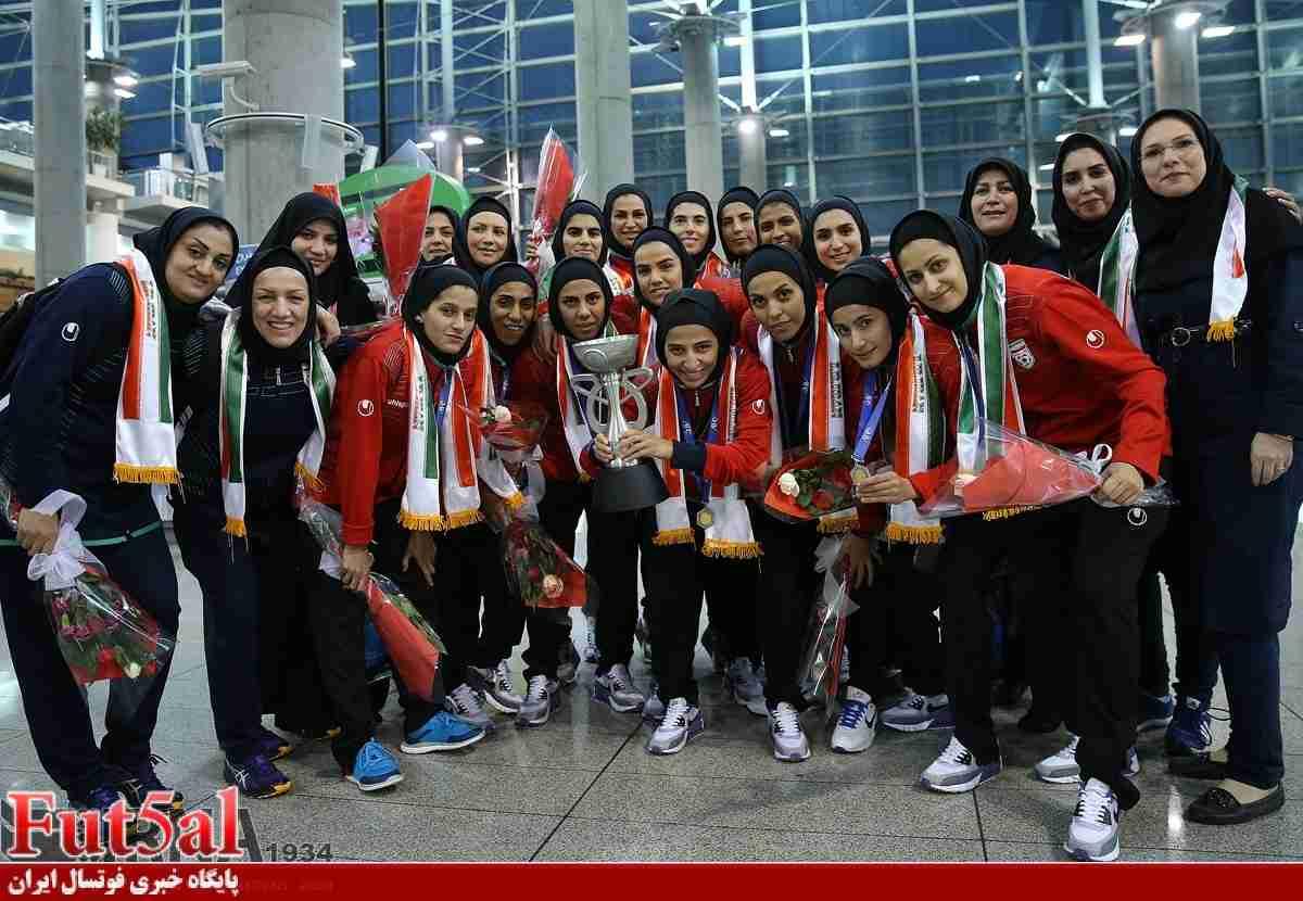 تبلور اتحاد ایرانیان در رقابت های قهرمانی فوتسال بانوان آسیا