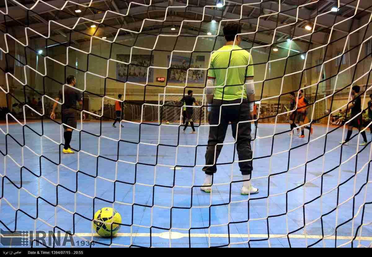 آغاز تمرینات تیم ملی فوتسال در مشهد