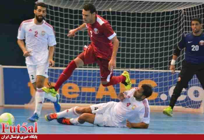 تیمهای ملی فوتسال امارات و مصر به مصاف هم میروند