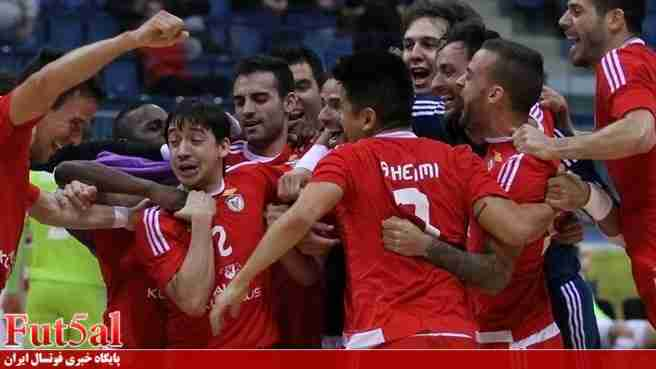 معرفی تیمهای جام بینقارهای باشگاههای فوتسال / عقابهای لیسبون
