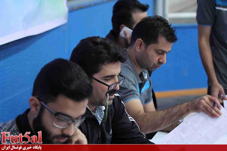 آغاز اردوی استعدادیابی تیمملی امید فوتسال در مشهد مقدس + تصاویر