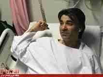 وحید شمسایی در بیمارستان بستری شد
