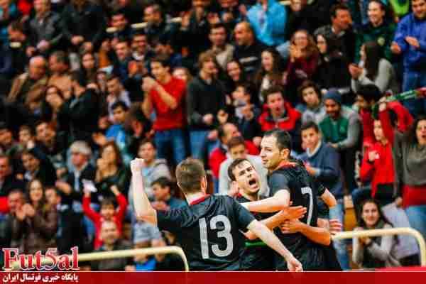 پیروزی پرگل میزبان جام ملتها