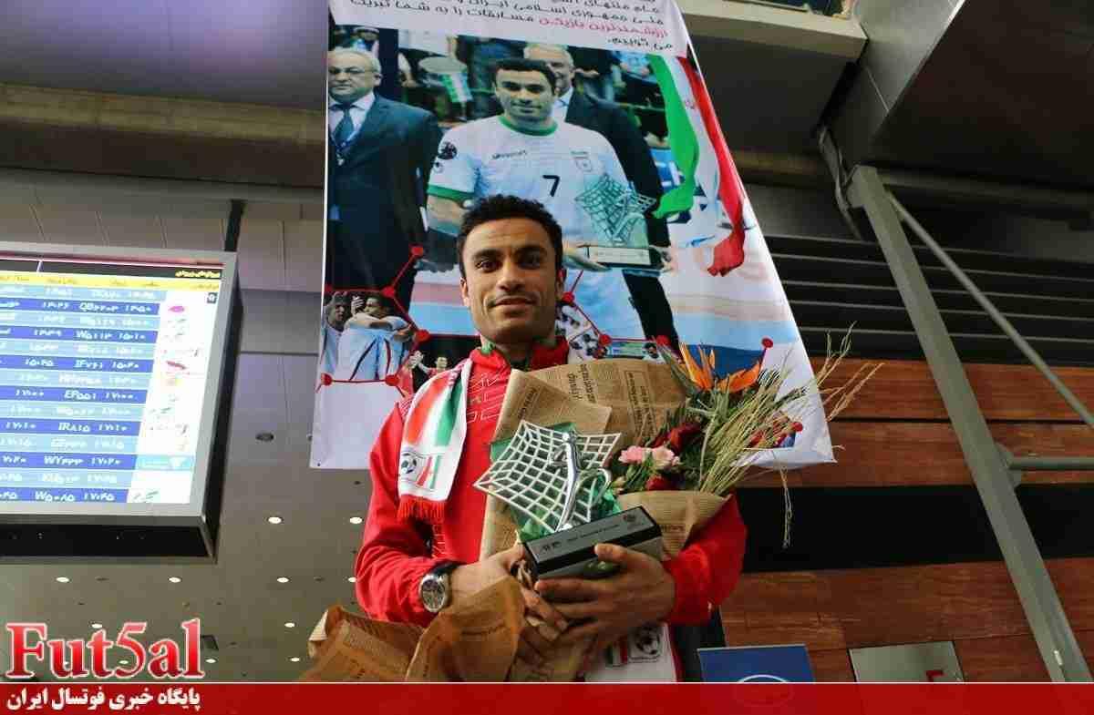حسنزاده بازیکن سال فوتسال آسیا شد/ اهدای جایزه چهارشنبه در بانکوک