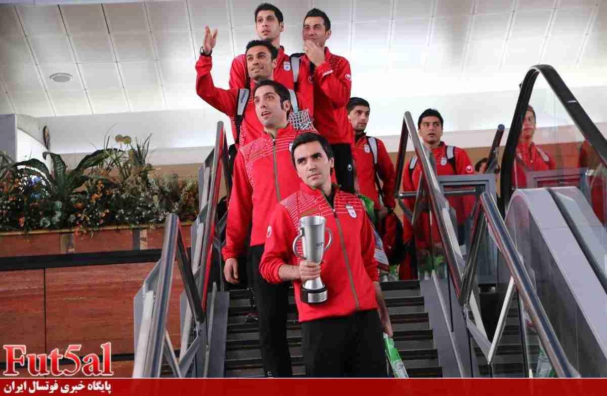زمان بازگشت تیم ملی به تهران