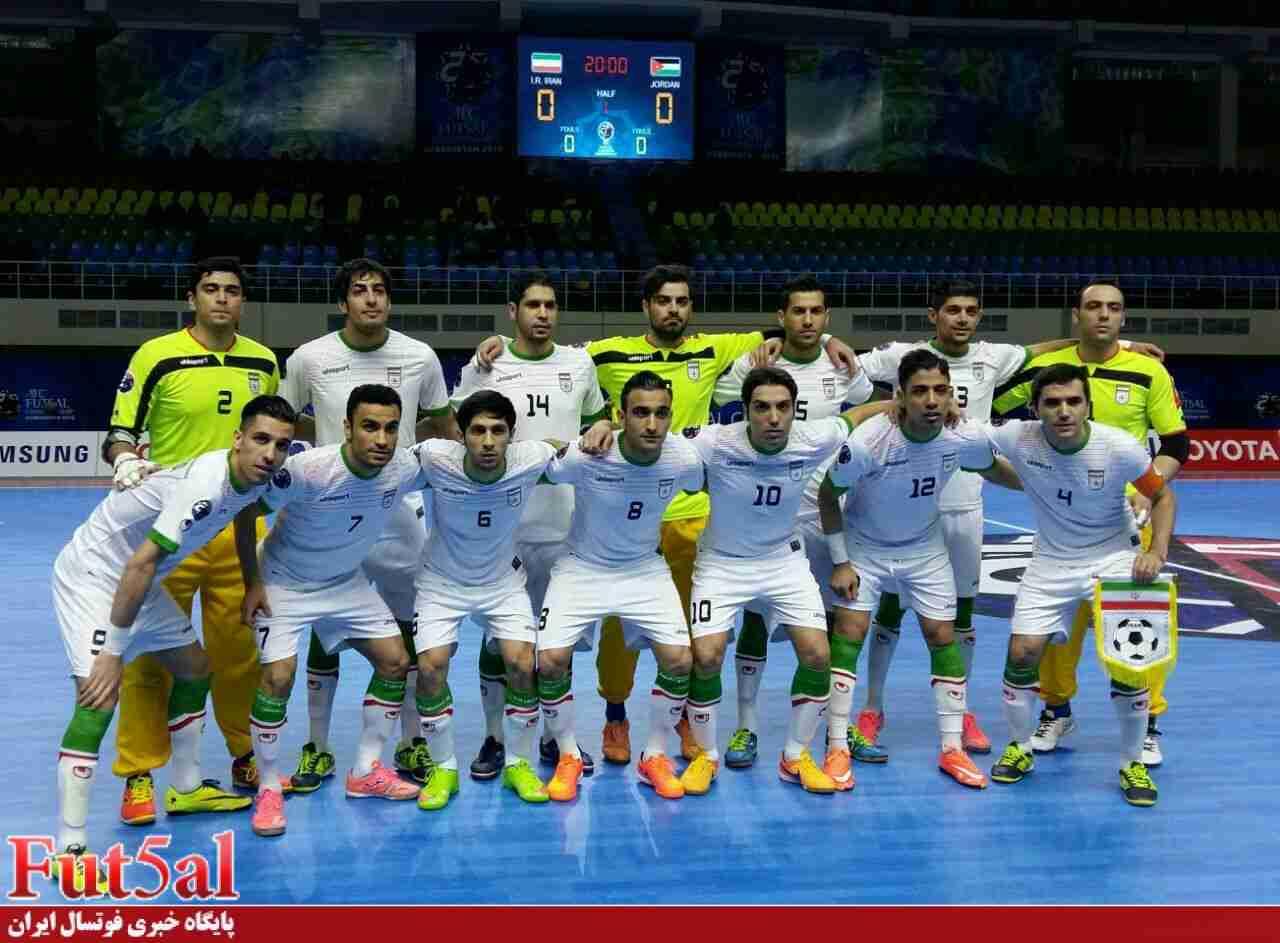 زمان دیدار دوستانه تیم ملی فوتسال ایران با ازبکستان تغییر کرد/ آغاز بازی از ساعت ۱۶:۵۳!