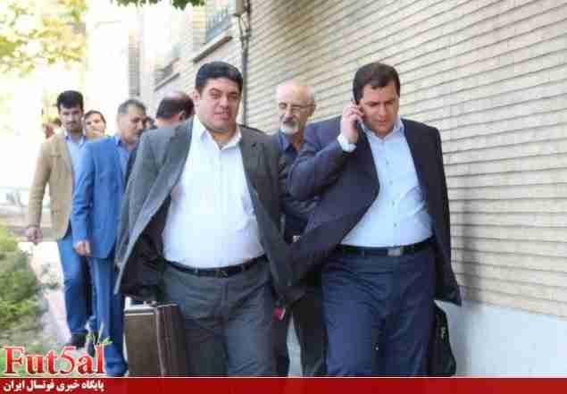 نجاریان:تاج از هیات رئیسه سازمان لیگ راضی بود/قرار شد جابری امورات را بر عهده بگیرد