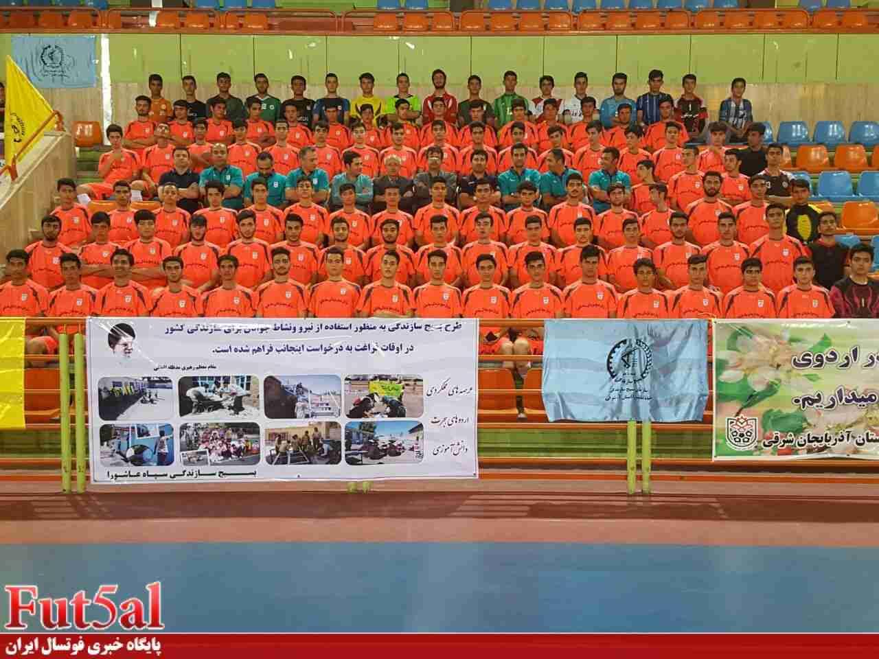 اعلام اسامی نفرات دعوت شده به اردوی انتخابی تیم المپیاد ورزشی فوتسال