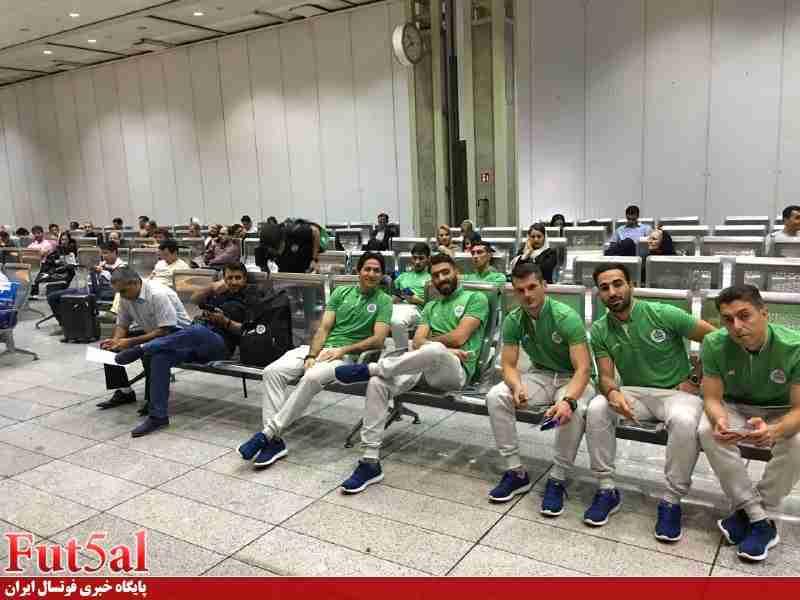 گزارش تصویری/پرواز تاسیساتی ها به قطر برای جام باشگاه های جهان