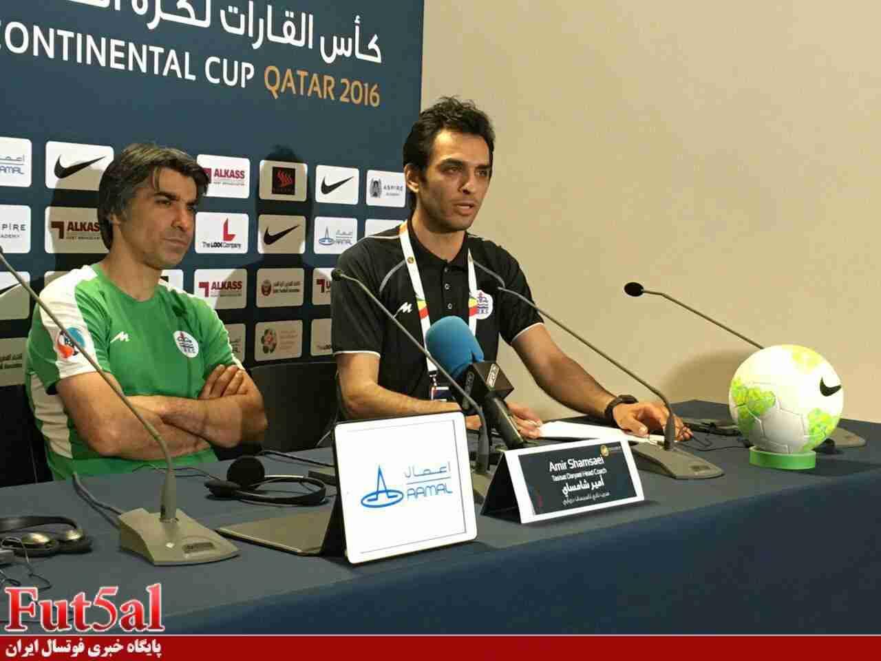 ویدئو/ مصاحبه شمسایی پس از دیدار با بارسلونا