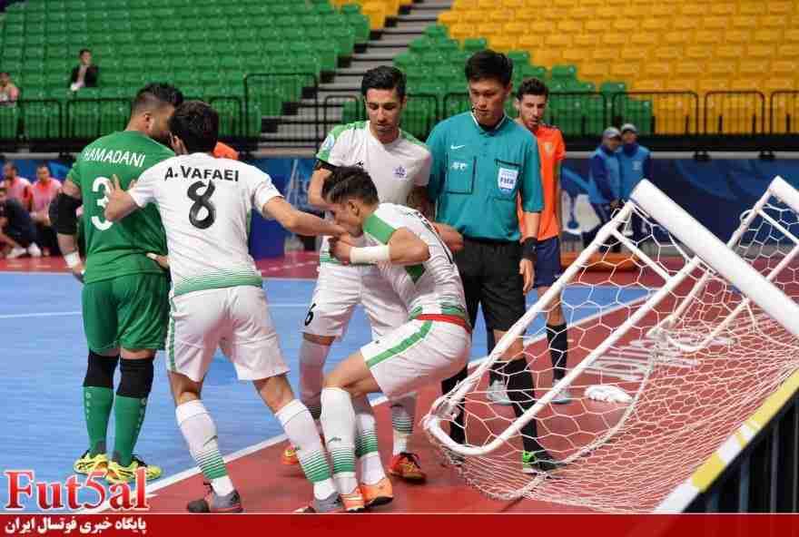 گزارش تصویری اختصاصی بازی تیم های تاسیسات دریایی ایران با المیادین لبنان
