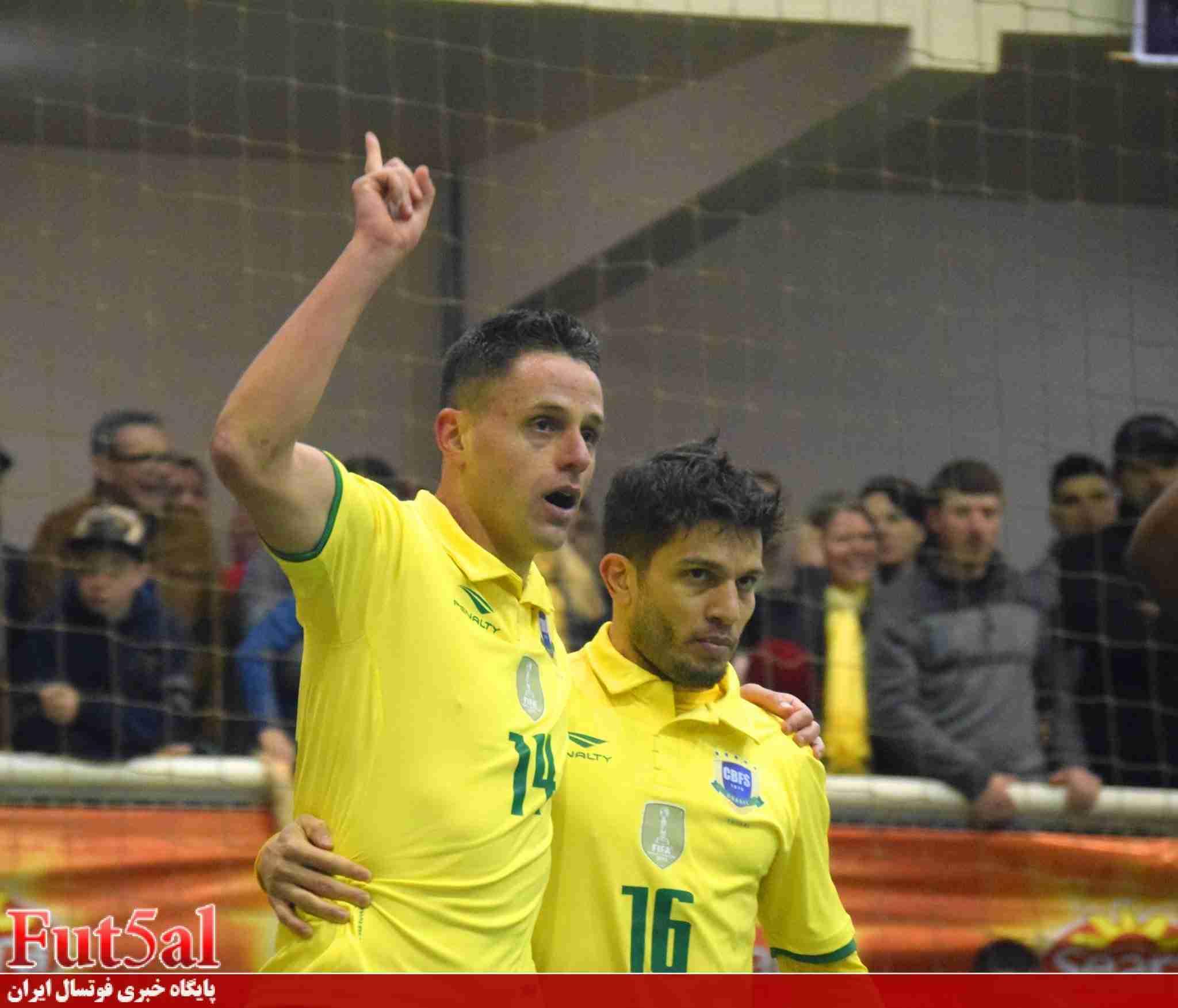 پیروزی پر گل برزیل در دربی آمریکای جنوبی