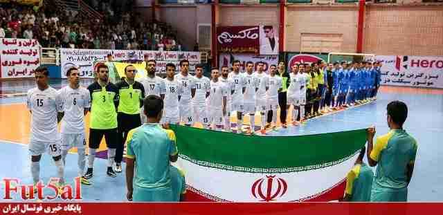 تیم ملی فوتسال در خطر حذف از بازیهای داخل سالن آسیا!