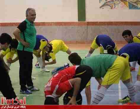 گزارش تصویری/تمرین با نشاط شهروند ساری پیش از بازی با گیتی پسند