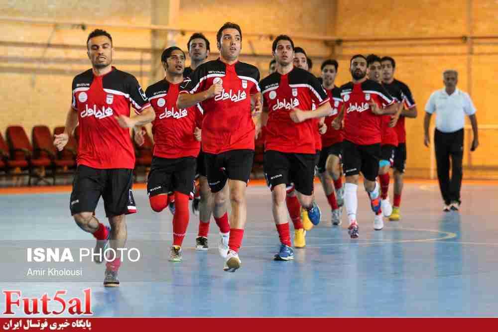 حریف اروپایی تیم ملی پیش از فوتسال قهرمانی آسیا