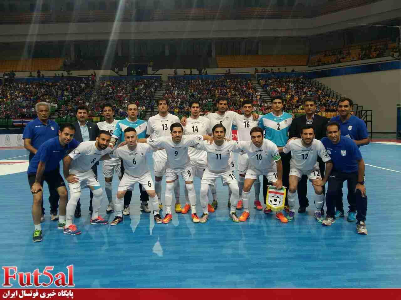 پیروزی پرگل ایران مقابل ژاپن در نیمه اول